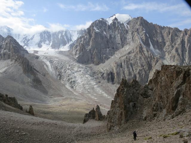 Gletscher im Nationalpark