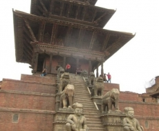 Tempel im Kathmadu-Tal