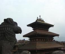 Tempel im Kathmadu-Tal.