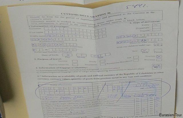 Einreisedokument